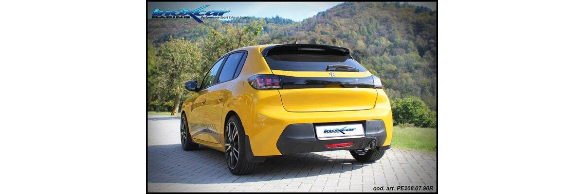 NEU: Inoxcar Sportauspuff Peugeot 208 New 1.2 101PS 2019- - NEU: Inoxcar Sportauspuff Peugeot 208 New 1.2 101PS 2019-