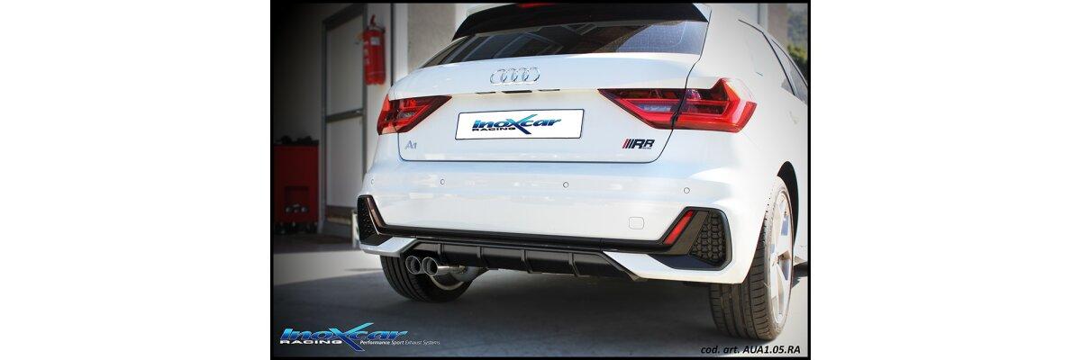 NEU: Inoxcar Sportauspuff Audi A1 GB 2.0 TFSI Sportback 2018- - NEU: Inoxcar Sportauspuff Audi A1 GB 2.0 TFSI Sportback 2018-