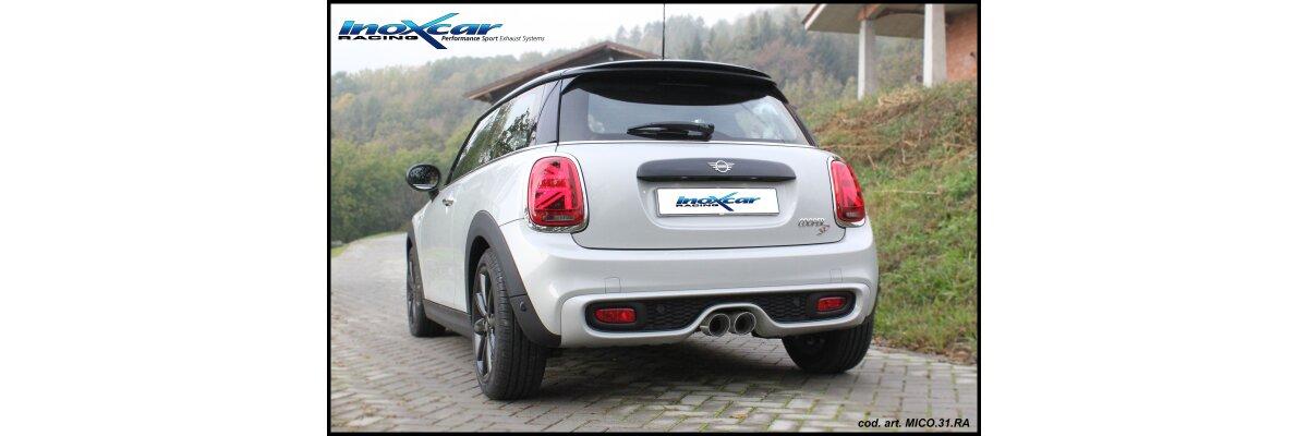 NEU: Inoxcar Sportauspuff Mini Cooper SD 2.0D 170PS 2014- - NEU: Inoxcar Sportauspuff Mini Cooper SD 2.0D 170PS 2014-