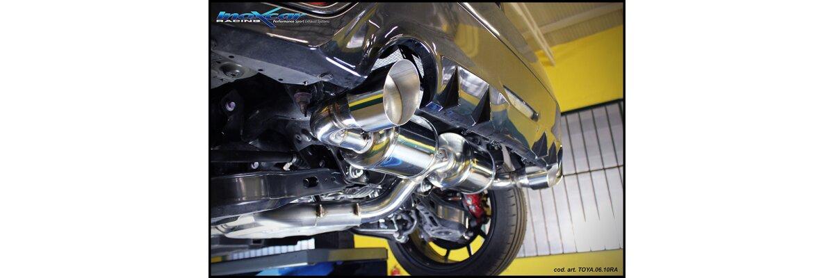 NEU: Inoxcar Sportauspuff Toyota Yaris GR 1.6 261PS 2020- - NEU: Inoxcar Sportauspuff Toyota Yaris GR 1.6 261PS 2020-