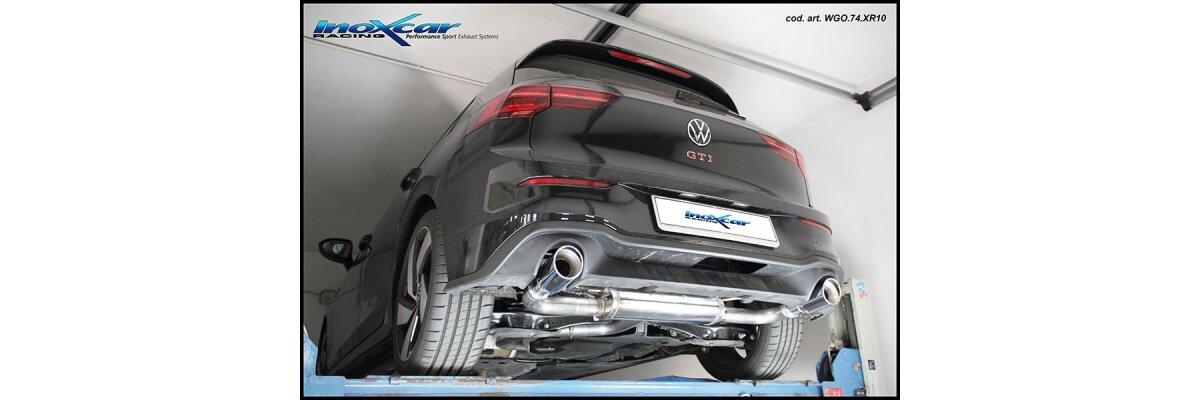 NEU: Inoxcar Sportauspuff VW Golf 8 2.0 GTI 245PS 2020- -