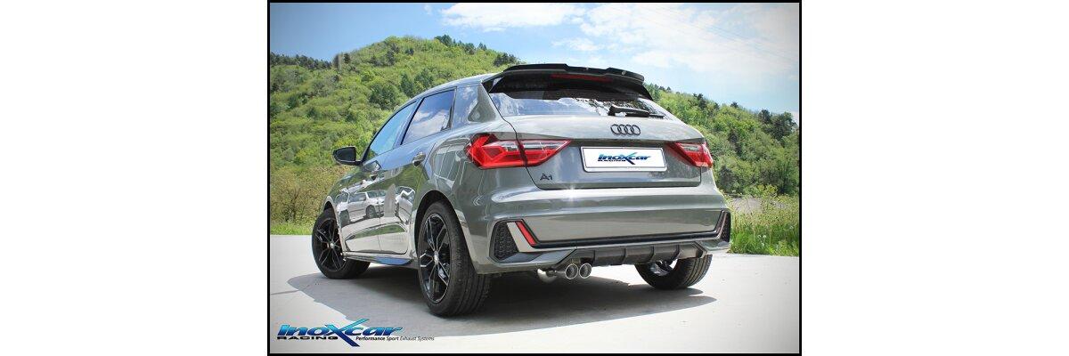 NEU: Inoxcar Sportauspuff Audi A1 30TFSI 1.0T 116PS -