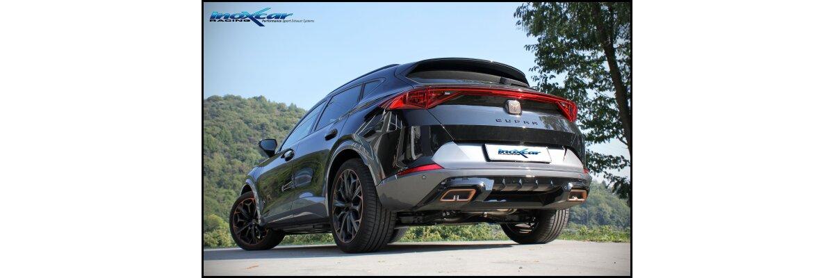NEU: Inoxcar Sportauspuff Cupra Formentor 1.4 e-Hybrid 150PS 2021- -