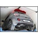 Opel Adam S 1.4 TURBO 150PS Inoxcar Sportauspuff 2x80mm...