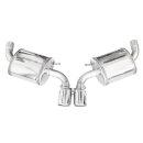 Porsche CAYMAN 981 2.7 275PS Inoxcar Sportauspuff 2x90mm...