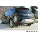 Seat Leon 5F 2.0 Cupra 280PS Inoxcar Endrohre 150x105mm...