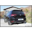 VW GOLF 7 2.0 GTI 230PS Inoxcar Duplex-Sportauspuff 102mm...