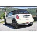 MINI CABRIO ONE 1.6 16V 98PS Inoxcar Sportauspuff 90mm...