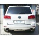 VW TUAREG 5.0 V10 TDI 313PS Inoxcar Duplex-Sportauspuff...
