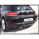 VW SCIROCCO 2.0 TFSI 200PS Inoxcar Sportauspuff 120x80mm...