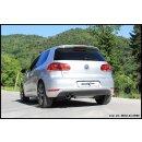 VW GOLF 6 2.0 TDI 170PS GTD Inoxcar Sportauspuff 2x80mm...