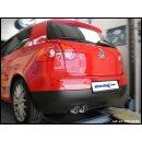 VW GOLF 5 1.4 TSI GT 170PS Inoxcar Sportauspuff 2x80mm...