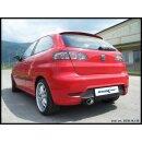 Seat IBIZA 1.9 TDI FR 130PS Inoxcar Sportauspuff 120x80mm...