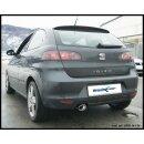 Seat IBIZA 1.4 TDI 75PS Inoxcar Sportauspuff 120x80mm...