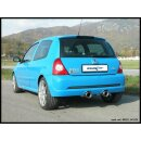 Renault Clio 2 RS Phase3 2.0 182PS Inoxcar Sportauspuff...
