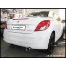 Peugeot 207 CC 1.6 16V 120PS Inoxcar Sportauspuff 102mm...