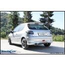 PEUGEOT 206 1.4 16V/1.4 16V XS 90PS Inoxcar Sportauspuff...