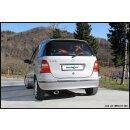 Mercedes CLASSE A140 82PS Inoxcar Sportauspuff 120x80mm...