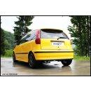 Fiat Punto 176 1.4 GT Turbo 131PS Inoxcar Sportauspuff...