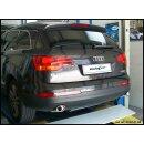 Audi Q7 3.0 TDI V6 233PS Inoxcar Duplex Sportauspuff...