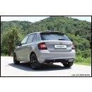 Skoda FABIA 1.2 TSI 90PS Inoxcar Sportauspuff 2x80mm...