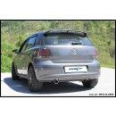 VW Polo 1.4 85PS Inoxcar Sportauspuff 90mm X-RACE Edelstahl