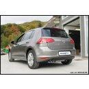 VW Golf 7 1.4 TSI 140-150PS Inoxcar Endschalldämpfer...