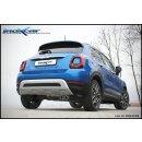 Fiat 500X 1.0 120PS Inoxcar 80mm Racing Sportauspuff...