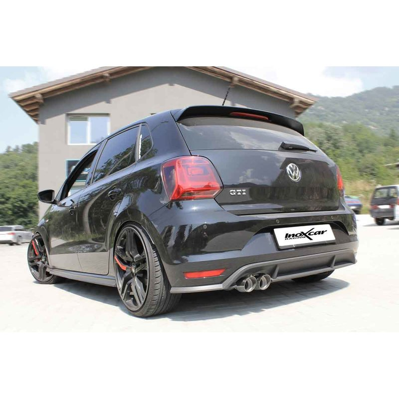 volkswagen polo 6c 1 8 gti endrohre 2x80 racing edelstahl. Black Bedroom Furniture Sets. Home Design Ideas