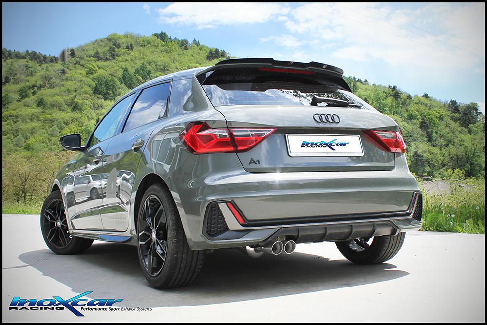 NEU: Inoxcar Sportauspuff Audi A1 30TFSI 1.0T