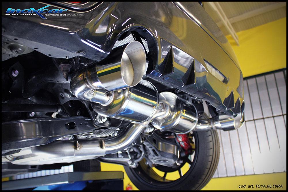 NEU: Inoxcar Sportauspuff Toyota Yaris GR 1.6