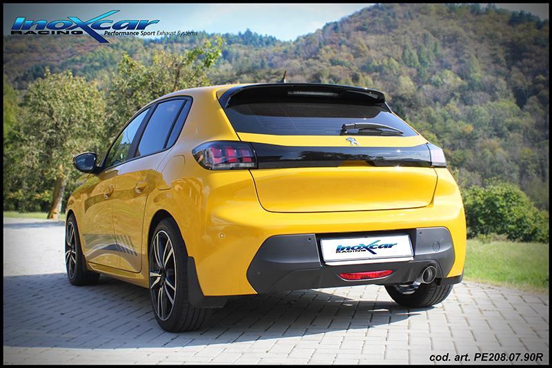NEU: Inoxcar Sportauspuff Peugeot 208 New 1.2