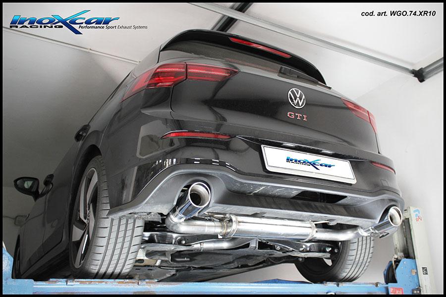 NEU: Inoxcar Sportauspuff VW Golf 8 2.0 GTI 2